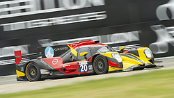 May 11, 2019 - Monza, MB, Italy - HIGH CLASS RACING of Anders FJORDBACH and Dennis ANDERSEN in the middle of fast Ascari chicane in Monza during Free Practice Session 2 of ELMS italian round. (Credit Image: © Riccardo Righetti/ZUMA Wire)