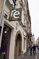 Re clothes store in Krakow Poland