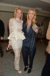 Left to right, ALICE NAYLOR-LEYLAND and LADY MARY CHARTERIS at the launch of Mrs Alice in Her Palace - a fashion retail website, held at Fortnum & Mason, Piccadilly, London on 27th March 2014.
