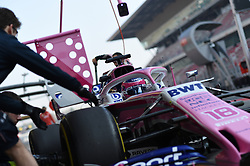 February 21, 2019 - Barcelona, Spain - Canadian driver Lance Stroll of English team Racing Point F1 Team Force India driving his single-seater during Barcelona winter test in Catalunya Circuit in Montmelo, Spain  (Credit Image: © Andrea Diodato/NurPhoto via ZUMA Press)