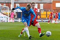 Elliot Newby. Stockport County FC 0-0 Bromley FC. Vanarama National League. Edgeley Park. 5.4.21