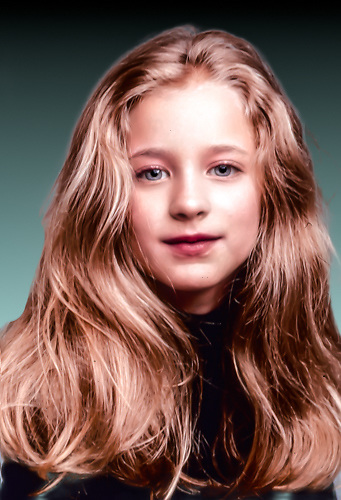 Hallee Hirsh, Actress when she was 10 years old Halle Hirsch, Actress as a young lady shot in my NYC studio 1997