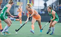 AMSTELVEEN -  Laura Nunnink (Ned)   tijdens de dames hockeywedstrijd , Nederland-Ierland (4-0)  bij het EK hockey. Euro Hockey 2021.   COPYRIGHT KOEN SUYK
