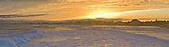 New Hampshire, Hampton Beach, Atlantic Ocean, sunset