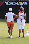 15 AUG 30  Julia and caddie MOM on18 at the conclusion Sundays Final Round of The Yokohama Tire LPGA Classic at The RTJ Golf Trail in Prattville, Alabama.(photo credit : kenneth e. dennis/kendennisphoto.com)