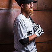 February 28, 2015: Infielder Adam LaRoche (25) poses for a portraits during the Chicago White Sox photo day in Glendale, AZ.