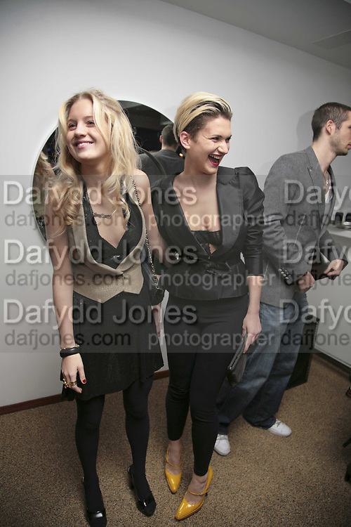 Marissa Montgomery and Emily Lobel, the Tatler Little Black Book party. 24 Kingly st. London. W!. 9 November 2006. ONE TIME USE ONLY - DO NOT ARCHIVE  © Copyright Photograph by Dafydd Jones 66 Stockwell Park Rd. London SW9 0DA Tel 020 7733 0108 www.dafjones.com