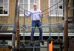 © London News Pictures. 13/10/2016. London, UK. Superhead Sir Greg Martin pictured at the Durand academy in South London. The former head Durand Academy chain has been accused of financial mismanagement. Photo credit: Ben Cawthra/LNP