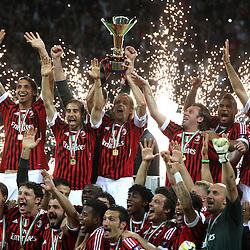20110515: ITA, Serie A, AC Milan Champions celebration