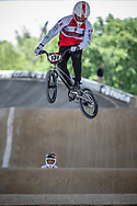 #131 (GAMET Alexandre) FRA at Round 5 of the 2019 UCI BMX Supercross World Cup in Saint-Quentin-En-Yvelines, France
