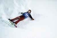 Snowboard , X-Games Oslo <br /> 26. Februar 2016  , 20160226<br /> Snowboard, Half Pipe, Wyller, X-Games <br /> Kent Callister faller <br /> Foto: Sjur Stølen / Digitalsport