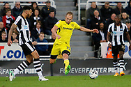 Burton Albion striker Luke Varney (19) during the EFL Sky Bet Championship match between Newcastle United and Burton Albion at St. James's Park, Newcastle, England on 5 April 2017. Photo by Richard Holmes.