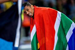 08-08-2017 IAAF World Championships Athletics day 5, London<br /> Wayde van Niekerk RSA pakt goud op de 400 meter.
