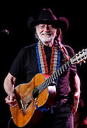 """January 13, 2012 - Willie Nelson greets his fans at a packed-house performance in Tunica at Gold Strike Casino Friday night. Willie is now 78 and is """"on the road again.""""  Photo by Karen Pulfer Focht"""
