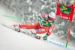Henrik Kristoffersen of Norway during 2nd run of Men's Giant Slalom race of FIS Alpine Ski World Cup 57th Vitranc Cup 2018, on March 3, 2018 in Podkoren, Kranjska Gora, Slovenia. Photo by Ziga Zupan / Sportida