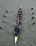 © Peter Spurrier Sports Photo<br />email - pictures@rowingpics.com<br />tel +44 (0) 7973 819 551<br />2002 Varsity Boat Race<br />26/3/2002<br />Goldie, from Hammersmith Bridge. 20020327 University Boat Race, [Varsity],  Tideway Week. Putney. London
