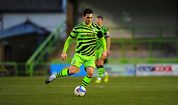 Jordan Moore-Taylor of Forest Green Rovers in action- Mandatory by-line: Nizaam Jones/JMP - 16/01/2021 - FOOTBALL - innocent New Lawn Stadium - Nailsworth, England - Forest Green Rovers v Port Vale - Sky Bet League Two