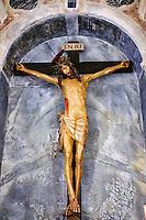 Croatie, baie de Kvarner, Ile et ville de Rab, cathedrale de l'Assomption // Croatia, Kvarner bay, island and city of Rab, Cathedral of Assumption