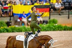 Bertolaso Giovanni, ITA, Monaco Franze 4, Lunger Vidoni Nelson<br /> World Equestrian Games - Tryon 2018<br /> © Hippo Foto - Stefan Lafrenz<br /> 19/09/18