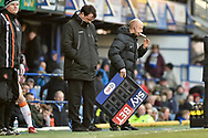 SKY BET EFL board during the EFL Sky Bet League 1 match between Portsmouth and Blackpool at Fratton Park, Portsmouth, England on 24 February 2018. Picture by Adam Rivers.