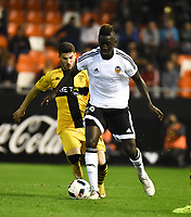 Valencia's  Zahibo  during Spain King Cup match. December 16, 2015. (ALTERPHOTOS/Javier Comos)