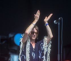 Singer Phil Campbell of The Temperance Movement open today on the main stage. TRNSMT Friday 6Th July 2018
