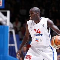 27 August 2011: Steed Tchicamboud is seen during the friendly game won 74-44 by France over Belgium, in Lievin, France.