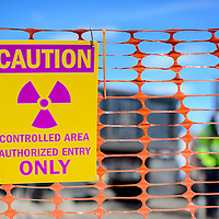 020114       Cayla Nimmo<br /> <br /> The Environmental Protection Agency (EPA) began removing Uranium from residential areas in MIlan on Wednesday, February 19. The first house the EPA worked on clearing is Kristen Bonham off Wagonwheel Road.
