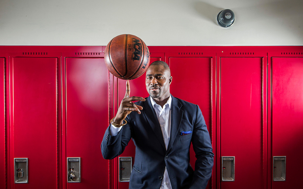 Toronto, Ontario - February 2, 2016 -- NBA Agent Gary Durrant --  Newly certified NBA Agent Gary Durrant poses for a picture at the St Clements School in Toronto, Tuesday, February 2, 2016.  (Mark Blinch for the Globe and Mail)