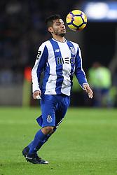 January 7, 2018 - Porto, Porto, Portugal - Porto's Mexican forward Jesus Corona in action during the Premier League 2017/18 match between FC Porto and Vitoria SC, at Dragao Stadium in Porto on January 7, 2018. (Credit Image: © Dpi/NurPhoto via ZUMA Press)