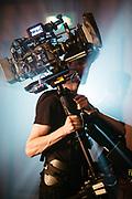 Sean Corbett, Steadicam Operator BTS on a music video for Gordon James and The Power.