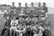 The Kerry team feraturing Mick O'Connell, back row 1st left and beside him Mick O'Dwyer and in front right Dr Eamonn O'Sullivan trainer.<br /> Photo: Donal MacMonagle