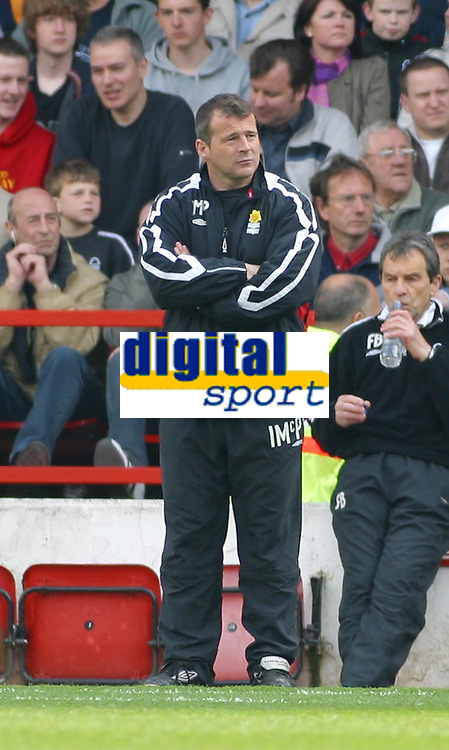 Photo: Dave Linney.<br />Nottingham Forest v Bournemouth. Coca Cola League 1. 29/04/2006Forest joint caretaker mgr.Ian Mc Pharland