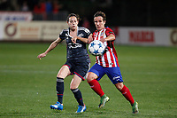 Atletico de Madrid´s Sonia during UEFA Women´s Champions League soccer match between Atletico de Madrid and Olympique Lyonnais, in Madrid, Spain. November 11, 2015. (ALTERPHOTOS/Victor Blanco)