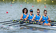Plovdiv BULGARIA. 2017 FISA. Rowing World U23 Championships. <br /> ITA BLW4X. Bow. <br /> MAREGOTTO, Asja, PIAZZOLLA, Paola, RODINI, Valentina and SCHETTINO, Giovanna.<br /> <br /> Wednesday. PM,  Heats 16:30:09  Wednesday  19.07.17   <br /> <br /> [Mandatory Credit. Peter SPURRIER/Intersport Images].
