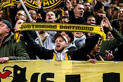 Borussia Dortmund fans - Mandatory by-line: Robbie Stephenson/JMP - 13/02/2019 - FOOTBALL - Wembley Stadium - London, England - Tottenham Hotspur v Borussia Dortmund - UEFA Champions League Round of 16, 1st Leg