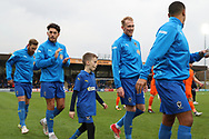 mascot during the EFL Sky Bet League 1 match between AFC Wimbledon and Southend United at the Cherry Red Records Stadium, Kingston, England on 24 November 2018.