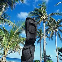 Fiji Islands, Yasawa Islands, resort detail, tiki