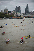 The Great River Race is an annual event in London, 3rd of September 2016. The race counts athletes determined to win others are in it for fun and in fancy dress. The race is 21.6 miles long from London Docklands to Ham in Surrey.
