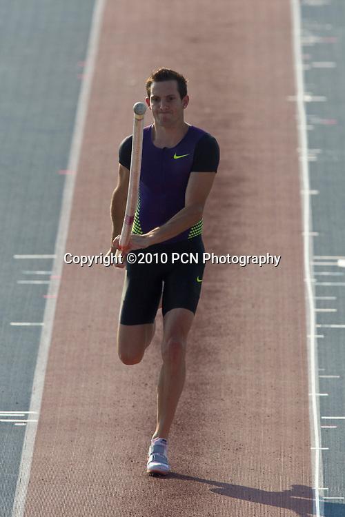 Renaud Lavillenie (FRA) winner of the Men's pole vault at the New York Grand Prix,  IAAF Diamond League