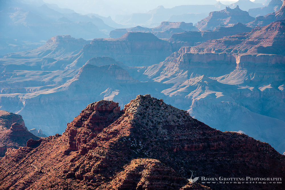 United States, Arizona, Grand Canyon. Desert View is the first lookout when arriving from the east.