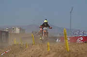 Antonio Cairoli in the wave section.