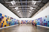 CARRIAGEWORKS ,Sydney UNVEIL LARGE-SCALE ARTWORKS <br /> PRESENTED FREE TO THE PUBLIC <br /> New works by leading Australian artists employ light as a medium to explore our basic interconnectivity as humans<br /> <br /> Kate Mitchell: All Auras Touch Taking the Australian and New Zealand Standard Classification of Occupations as the starting point, Mitchell will photograph the aura of one representative for each of the 1023 recognised occupations – capturing a snapshot of contemporary Australia to remind us that we are all energetic beings made up of the same matter.