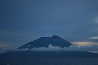Mount Gamalama volcano, Ternate, Indonesia