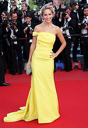 Michael Buble's wife Luisana Lopilato at the premiere of  On The Road   at the Cannes Film Festival, Wednesday, 23rd May 2012. Photo by: Stephen Lock / i-Images