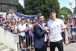 July 18, 2018 - Paris, France - Benjamin Pavard et Benjamin Saint Huile  (Credit Image: © Panoramic via ZUMA Press)