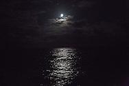 North Atlantic Ocean, October 2014.<br /> Full Moon. © Chiara Marina Grioni