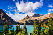 Bow Lake and the Bow Glacier, Banff National Park, Alberta, Canada