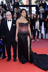 May 16, 2019 - WORLD RIGHTS..Cannes, France, 16.05.2019, 72th Cannes Film Festival in Cannes. The 72th edition of the film festival will run from May 14 to May 25. ..Red carpet ''Rocketman''..NZ. Priyanka Chopra ..Fot. Radoslaw Nawrocki/FORUM (FRANCE - Tags: ENTERTAINMENT; RED CARPET) (Credit Image: © FORUM via ZUMA Press)