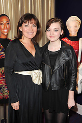 Left to right, LORRAINE KELLY and her dughter ROSIE SMITH at a party to celebrate the publication of Get The Look by Mark Heyes held at the Sanctum Soho Hotel, 20 Warwick Street, London W1 on 30th March 2010.